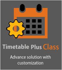 Customized timetabling software