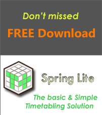 Free Timetable Software