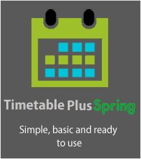 simple timetable software